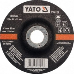 Diskas metalo šlifavimo 125...