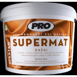 Dažai SUPERMAT 1l balti