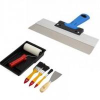 Dažymo ir apdailos įrankiai, priedai